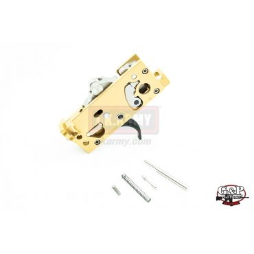 G&P MWS CNC Custom Adjustable Trigger Box (Flat)