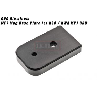 GTG CNC Ai MP7 Mag Base Plate for KSC / KWA MP7 GBB