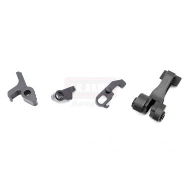 Hephaestus CNC Steel Fire Control Parts Set for GHK AK GBB System Series