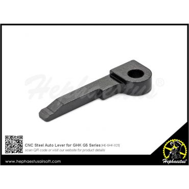 Hephaestus CNC Steel Auto Lever for GHK G5 GBB Rifle Series