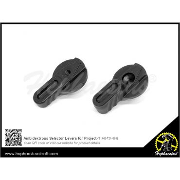 Hephaestus Ambidextrous Selector Levers for Project-T / Tar21 GBB Rifle Series / S&T T21 AEG Series