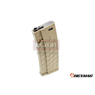 Hexmag Airsoft 120rd Magazine for AEG ( FDE )