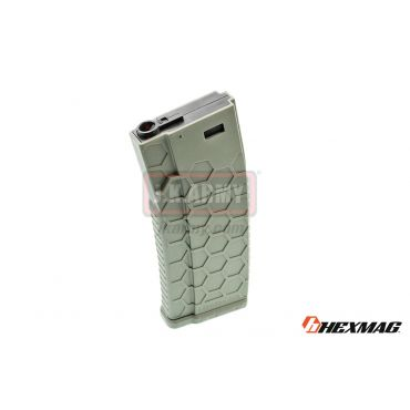 Hexmag Airsoft 120rd Magazine for AEG ( OD )