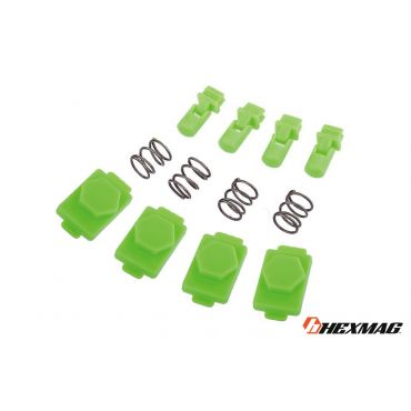 Hexmag Airsoft HexID - Hexgon Latchplates ( Zombie Green )