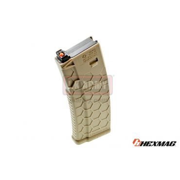 Hexmag Airsoft 120rd Magazine for PTW M4 ( FDE )