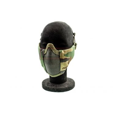 HFP - Half Face Protective MESH Mask ( Woodland )
