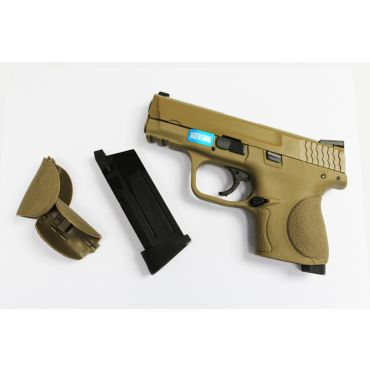 H.K Toucan S Metal Slide GBB Pistol ( Tan )