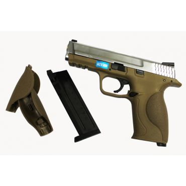 H.K Toucan Metal Slide GBB Pistol ( SV x Tan )
