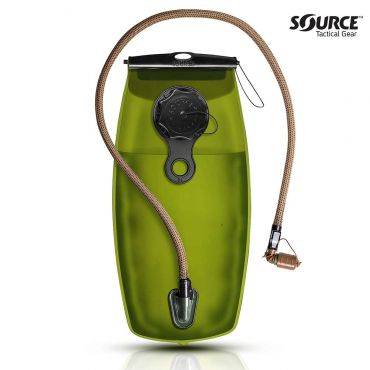SOURCE WXP 3L / 100oz. Storm Valve SQC QMT Hydration ( Coyote Cover )