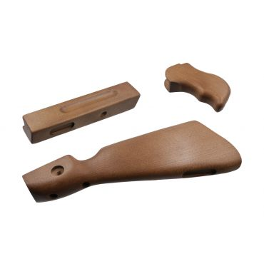 BOG M1A1 Wood Kit for WE M1A1 Thompson GBB Airsoft ( Cybergun )