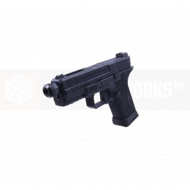 EMG SAI BLU Compact Model 19 GBB Airsoft Training Weapon ( Gas ) ( All Black )