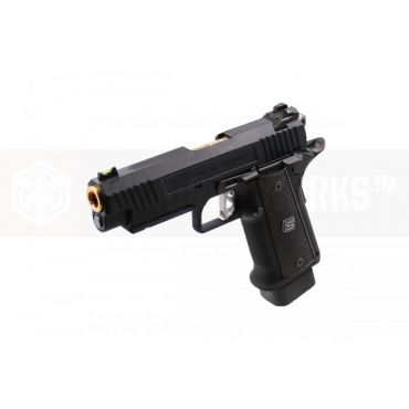 EMG SAI 2011 DS Hi-Capa 4.3 GBB Pistol ( CNC Full Steel Limited Edition ) ( Black )