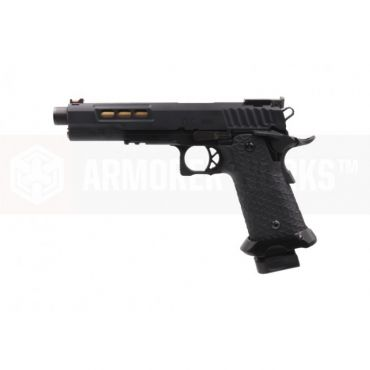 EMG / STI DVC 3-GUN 2011 AW-Hi-Capa GBB Pistol ( Threaded ) ( Black )