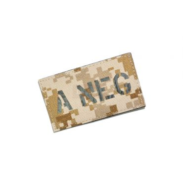 Infrared Reflective Patch - A- NEG ( AOR1 ) ( Free Shipping )