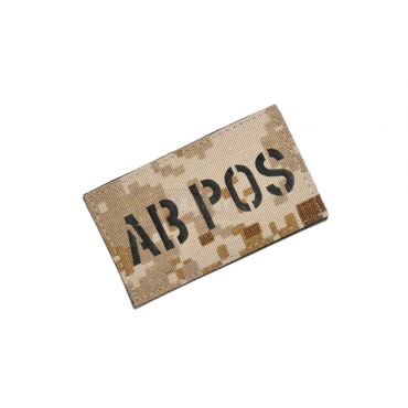 Infrared Reflective Patch - AB+ POS ( AOR1 ) ( Free Shipping )