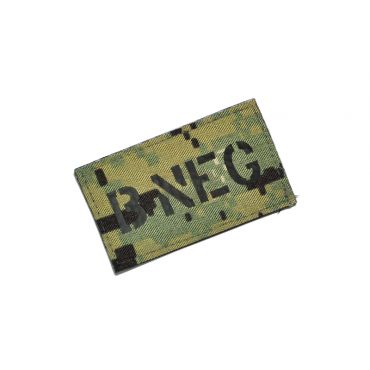 Infrared Reflective Patch - B- NEG ( AOR2) ( Free Shipping )
