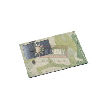 Infra Red Patch - Multicam Taiwan Flag ( Free Shipping )