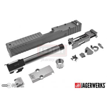 JagerWerks Officially Licensed Downrange RMR Cut Slide for Tokyo Marui G Model