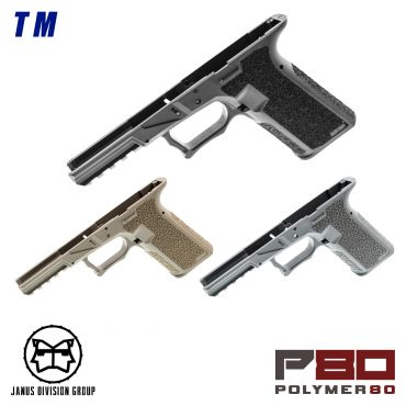JDG Polymer80 Licensed P80 PF940V2 Airsoft Frame for Model 17 Gen3 ( TM / WE ) ( G17 GEN3 )