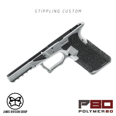 JDG Polymer80 Licensed P80 PF940V2 Airsoft Frame Stippling Custom Ver. for Glock 17 Gen3 ( UMAREX / TM / WE ) ( for G17 Model 17 GEN3 )