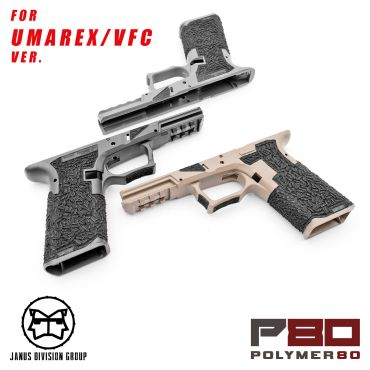 JDG Polymer80 Licensed P80 PF940V2 Airsoft Frame Stippling Custom Ver. for Glock 17 Gen3 ( UMAREX / VFC ) ( for G17 Model 17 GEN3 )