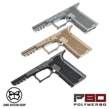 JDG Polymer80 Licensed P80 PF940V2 Airsoft Frame for Glock 17 Gen3 ( UMAREX / VFC ) ( for G17 Model 17 GEN3 )