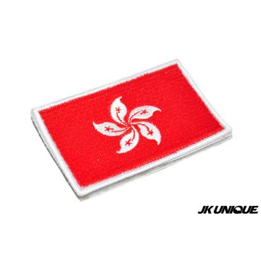 JK UNIQUE Hong Kong Flag Patch ( Full Color )