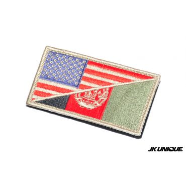 JK UNIQUE Patch - USA x Afghanistan ( DE ) ( Free Shipping )