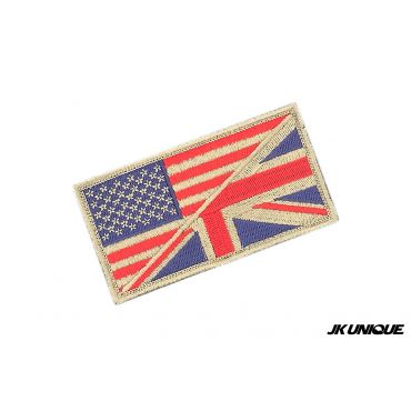 JK UNIQUE Patch - USA x UK ( DE ) ( Free Shipping )