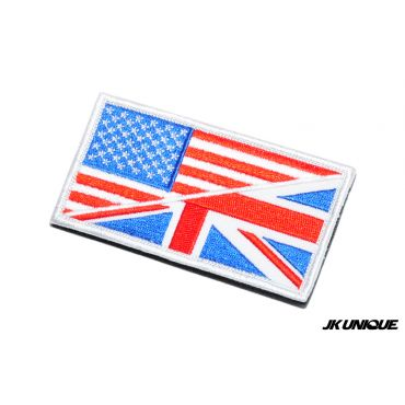 JK UNIQUE Patch - USA x UK ( Full Color ) ( Free Shipping )