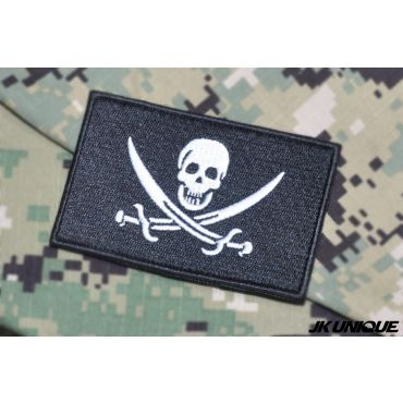 JK UNIQUE Patch - Navy Jolly Roger ( Navy SEAL )
