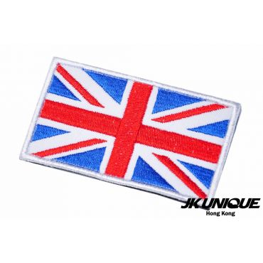 JK UNIQUE Patch - UK FLAG ( Full Color ) ( Free Shipping )