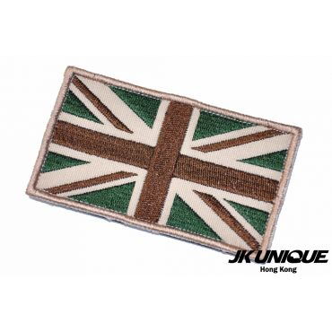 JK UNIQUE Patch - UK FLAG ( MC , OD x Tan ) ( Free Shipping )