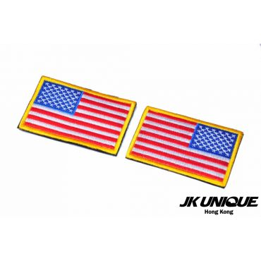 JK UNIQUE Patch - USA FLAG ( Full Color ) ( Left / Right ) ( Free Shipping )