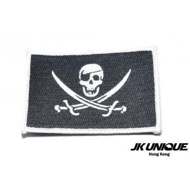 JK UNIQUE Patch - Jolly Roger NAVY SEAL ( Small Size )
