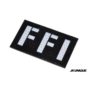 JK UNIQUE Reflective PVC IR Patch - FFI ( Free Shipping )