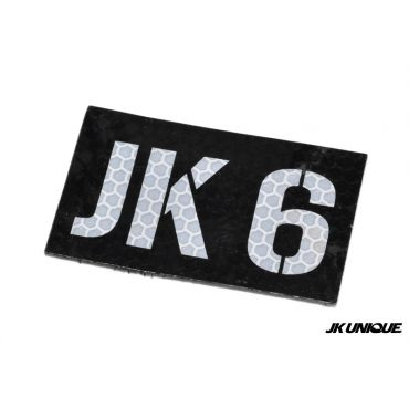 JK UNIQUE Reflective PVC IR Patch - JK6 ( Free Shipping )
