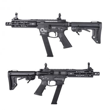 King Arms TWS 9mm SBR GBB ( Black )