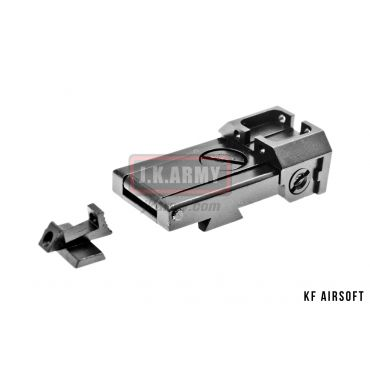 KF Airsoft Hi-Capa Front and Rear Sight Set