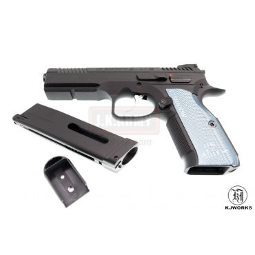 KJ Works CZ Shadow 2 GBB Pistol ( ASG Licensed ) - CO2 Version