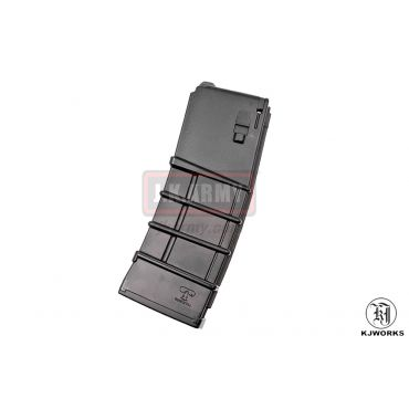 KJ Works 30rds Gas Magazine for KJ M4 Canadian Version ( Black ) ( Tanio Kob )