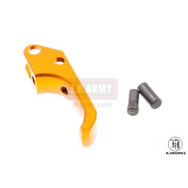 KJ Works ALU SAO Trigger for CZ SP-01 Shadow ( Orange )