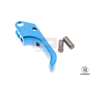 KJ Works ALU SAO Trigger for CZ SP-01 Shadow ( Blue )