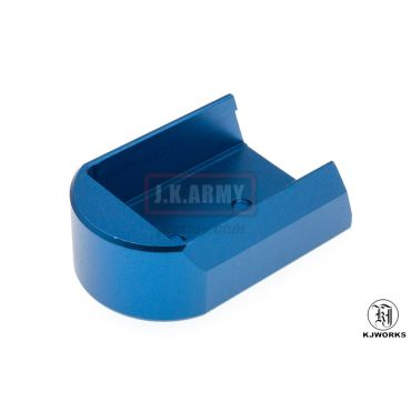 KJ Works Magazine Plate for CZ SP-01 Shadow ( Blue )