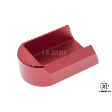 KJ Works Magazine Plate for CZ SP-01 Shadow ( Red )