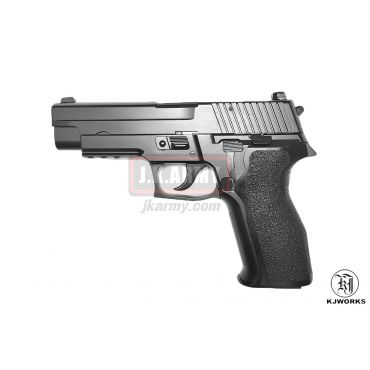 KJ Works P226 E2 Full Metal GBB Pistol Airsoft