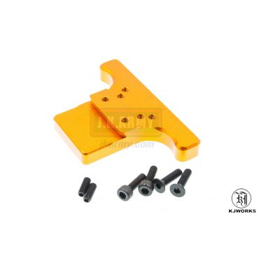KJ Works Rear Sight Plate for CZ SP-01 Shadow ( Orange )
