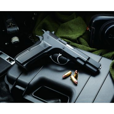 KJ Works KP-09 CZ 75 GBB Pistol Airsoft (CO2 Ver.)
