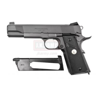 LIKISEI MEU SF-Armory Style Custom Steel CO2 Version GBB Pistol Airsoft