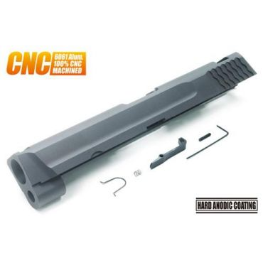 Guarder M&P9 Aluminum CNC Slide for M&P9 ( .40 Mark / BK )